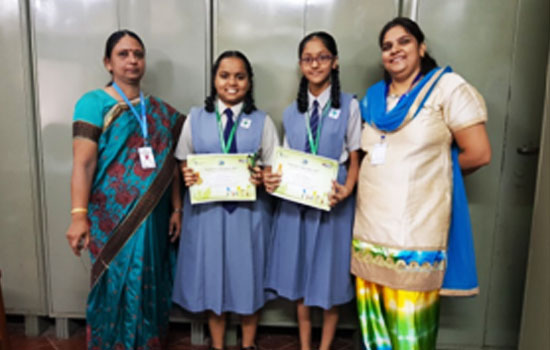 Winners of the essay writing competition organised by PCRA (Petroleum Conservation Research Association)