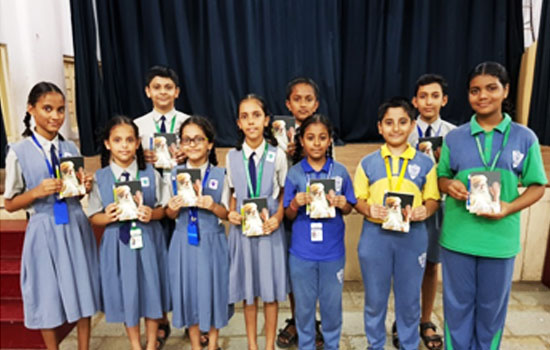 Winners of 'Creative Writing Competition' conducted by Camlin Kokuyo in association with Isha Foundation.