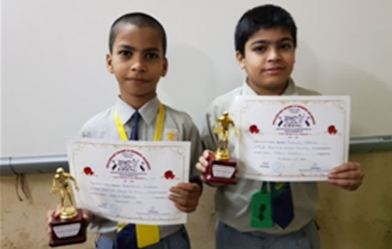 Winners of Inter School Table Tennis competition arranged by Steadfast Music and Sports Academy
