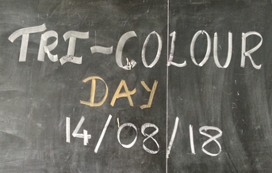 TRI – COLOUR  DAY